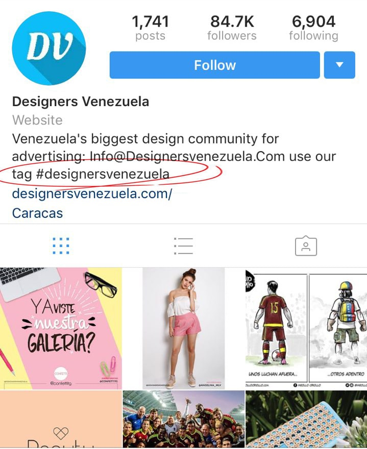 designersvenezuela instagram followers for businesses