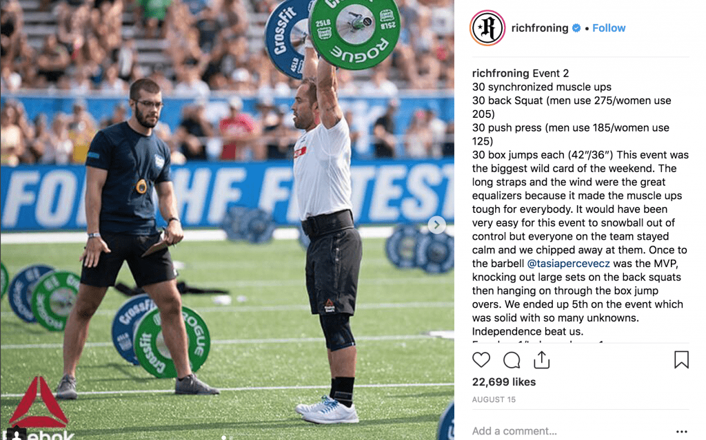 Fitness Hashtags for CrossFit