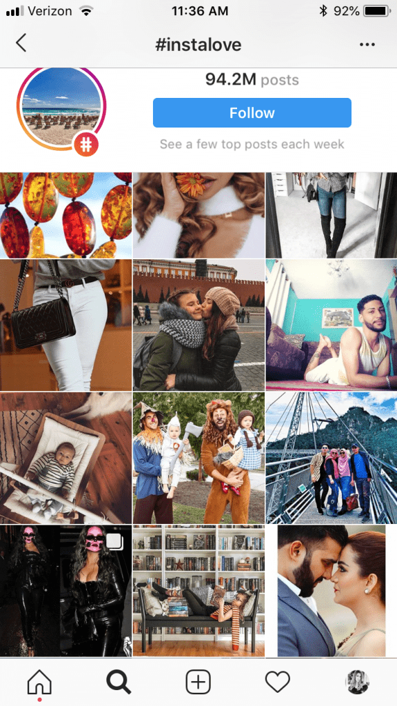 Top Hashtags for Instagram 2019